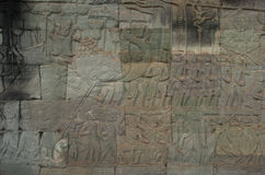 Bayon. Angkor Wat. Το Siem συγκεντρώνει. Καμπότζη Στοκ φωτογραφία με δικαίωμα ελεύθερης χρήσης