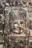 Τα πρόσωπα του αρχαίου ναού Bayon σε Angkor Wat, Siem συγκεντρώνουν, Καμπότζη Στοκ φωτογραφία με δικαίωμα ελεύθερης χρήσης