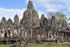 Bayon in Angkor Wat Stock Image