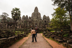 Bayon Bügel, Kambodscha Lizenzfreies Stockbild