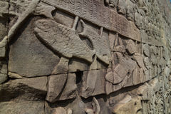 Bayon bas relief Stock Photography