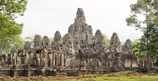Bayon Buddhist Temple in Angkor Thom, Cambodia Stock Images