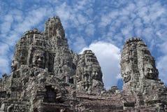 Bayon, Cambodia Imagem de Stock Royalty Free