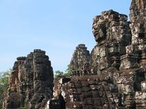 Bayon, Cambodia Royalty Free Stock Photo