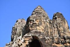 Bayon. This is a Cambodian Bayon temple Stock Photos