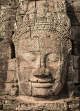 Bayon Castle or Prasat Bayon Khmer temple at Angkor in siem reap Stock Images