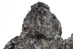 Bayon temple in Angkor Stock Photography