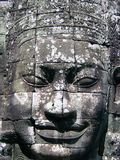 Bayon Face. Angkor Wat Bayon Face in Siem Reap, Cambodia Stock Photo