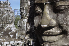 Bayon Face Stock Image