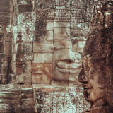 Bayon face Angkor Thom Royalty Free Stock Photo