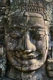Bayon face Angkor Wat Cambodia Stock Image