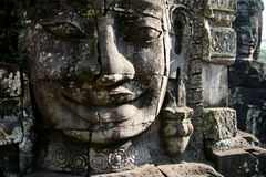 Bayon face - Cambodia Stock Image