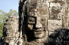 Bayon Face, Cambodia Stock Photography