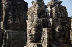 Bayon Face, Cambodia Royalty Free Stock Image