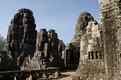 Bayon Face, Cambodia Royalty Free Stock Photo