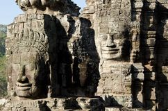 Bayon Face, Cambodia Stock Photos