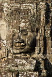 The Bayon Face. Locate on Siem Reab , Cambodia Stock Photos