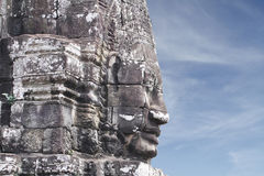 Bayon Face Tower Stock Image