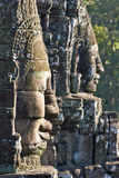 Bayon Faces. Stock Photos