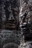 Bayon Faces Royalty Free Stock Photo