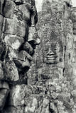 Bayon fait face Photo stock
