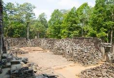 Bayon i Angkor, Cambodja Arkivfoton