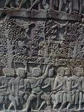 Bayon - Kambodja Royalty-vrije Stock Foto's