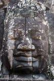 Bayon landmark temple, Angkor, Cambodia Royalty Free Stock Photo