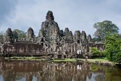 bayon para przeprowadzać żniwa w górę odprowadzenia siem świątynię Fotografia Stock