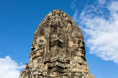 The Bayon at Prasat Angkor Thom Royalty Free Stock Image
