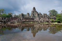 bayon przeprowadzać żniwa siem świątynię Zdjęcie Royalty Free