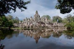 bayon przeprowadzać żniwa siem świątynię Obraz Royalty Free