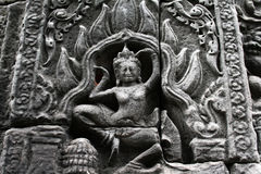 Bayon relief Royalty Free Stock Photography
