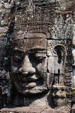 Bayon Smile Statue, Cambodia Stock Photo