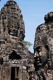 Bayon Smile Statue, Cambodia. Bayon style's Smile Statue at Siem Reap Cambodia Stock Image