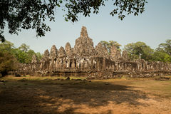 Bayon  from south west corner. Bayon panorama from south west corner Royalty Free Stock Photography