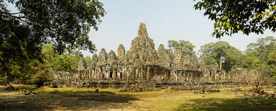 Bayon from south west corner Royalty Free Stock Photos