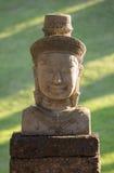 Bayon statue stone face, angkor wat Stock Images