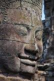 Bayon stone face Stock Image