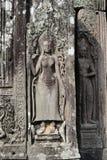 Bayon tempel Royaltyfria Foton
