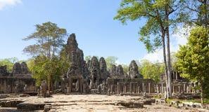 Bayon tempel Royaltyfri Foto