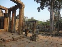 Bayon-Tempel Lizenzfreie Stockfotos