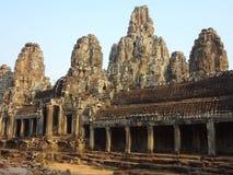 Bayon-Tempel Stockfotos