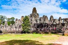 Bayon Tempel Stockbilder
