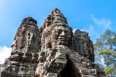 Bayon-Tempel, Anghor Lizenzfreie Stockbilder