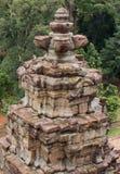 Bayon tempel Angkor Thom Royaltyfria Bilder