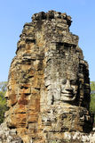 Bayon tempel, Cambodja Fotografering för Bildbyråer
