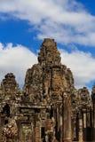 Bayon tempel i Angkor Thom Fotografering för Bildbyråer