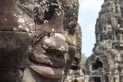 Bayon-Tempel Kambodscha stockfoto