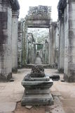 Bayon temple. Angkor Wat temple in Siem Reap Cambodia stock image